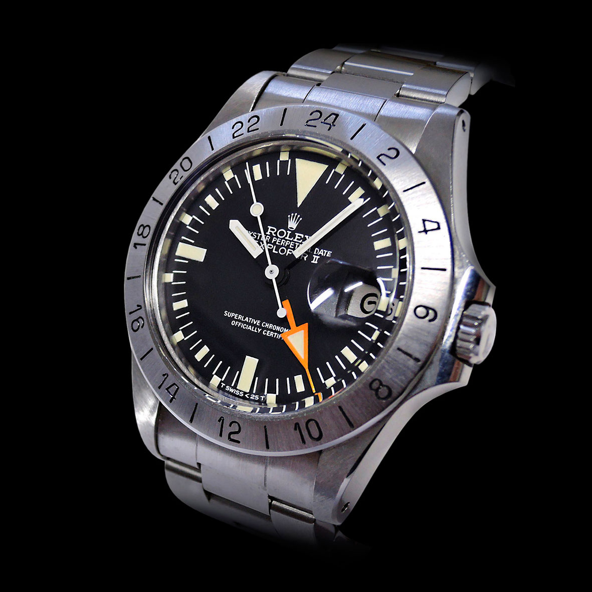 "ROLEX Explorer II ""Orange Hand"""